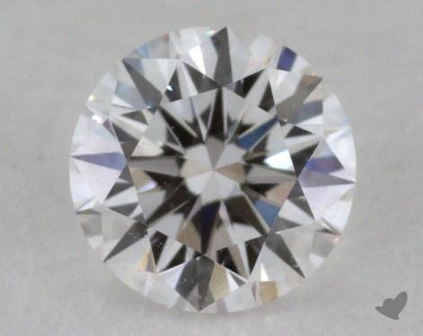 0.40 Carat E-VVS1 Excellent Cut Round Diamond