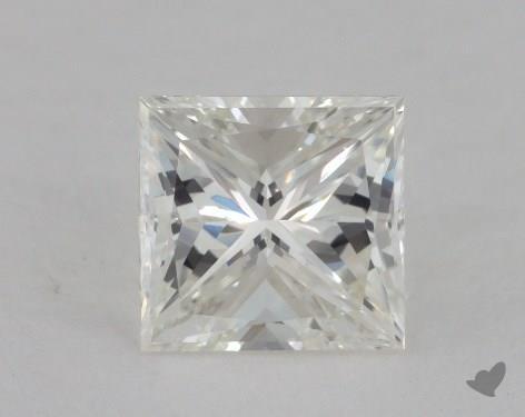1.31 Carat J-VS1 Very Good Cut Princess Diamond