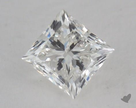 0.63 Carat H-VS2 Good Cut Princess Diamond