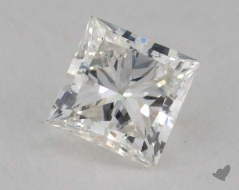 0.50 Carat I-SI1 Ideal Cut Princess Diamond