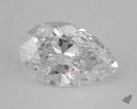 1.04 Carat E-SI2 Pear Shape Diamond