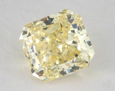 1.33 Carat  yellow-VS2 Radiant Cut Diamond