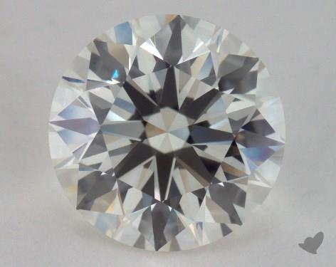 2.08 Carat K-VVS2 Excellent Cut Round Diamond