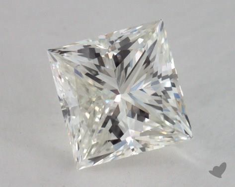 1.53 Carat I-VS2 Very Good Cut Princess Diamond