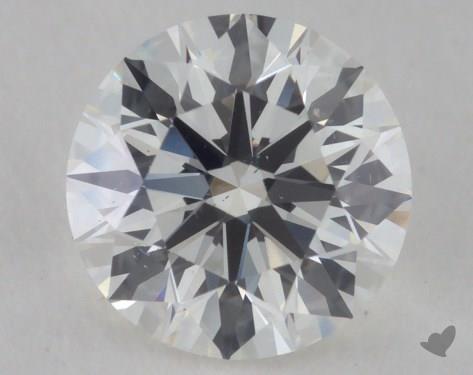 0.79 Carat H-VS2 Excellent Cut Round Diamond