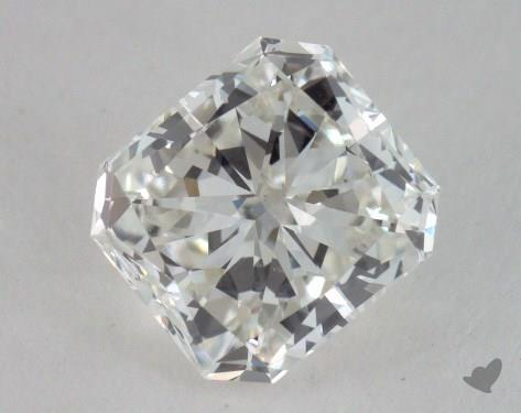 1.25 Carat H-VS2 Radiant Cut Diamond
