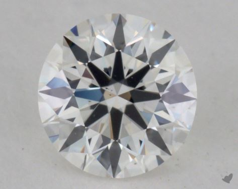 0.53 Carat G-VS1 True Hearts<sup>TM</sup> Ideal Diamond