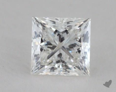 0.71 Carat G-VS1 Ideal Cut Princess Diamond