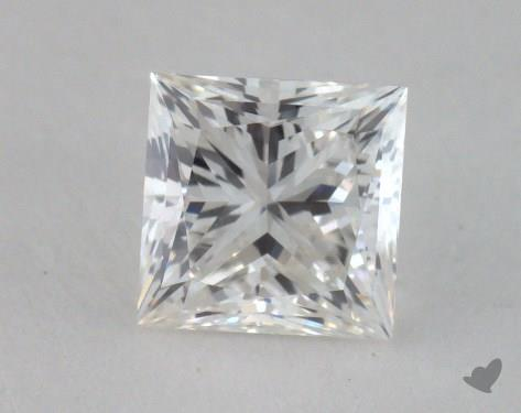 0.70 Carat H-VVS1 Princess Cut Diamond