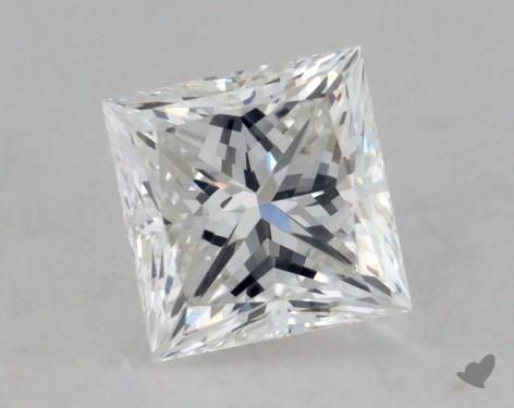 0.82 Carat G-VVS2 Ideal Cut Princess Diamond