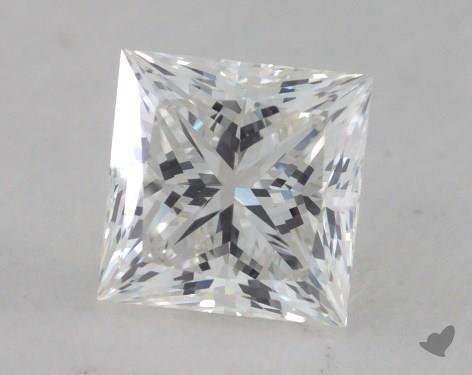 0.81 Carat G-VS1 Ideal Cut Princess Diamond