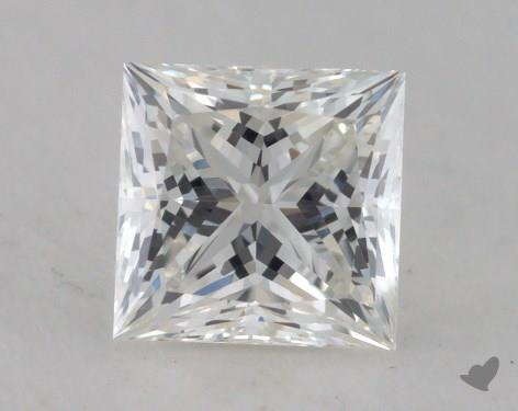 0.82 Carat G-VS1 Ideal Cut Princess Diamond