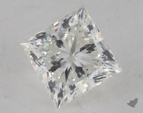 0.80 Carat I-VS1 Ideal Cut Princess Diamond