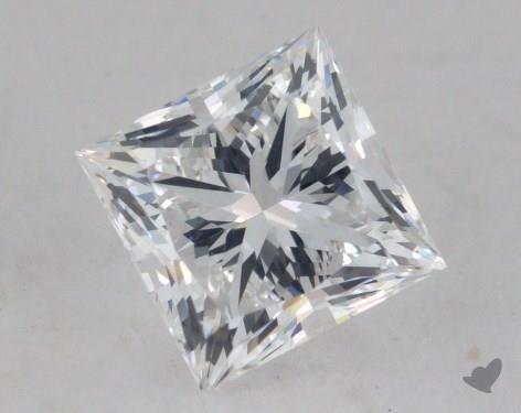 0.90 Carat D-VS1 Ideal Cut Princess Diamond
