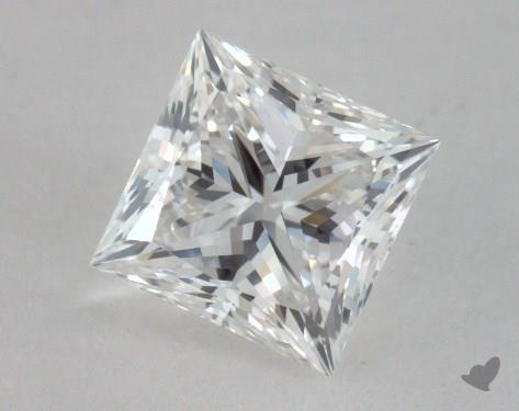 0.90 Carat F-VS1 Ideal Cut Princess Diamond