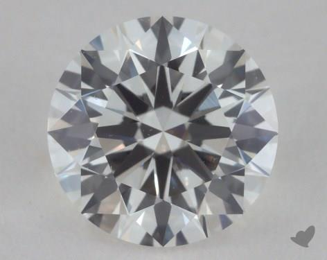 0.91 Carat H-VVS2 True Hearts<sup>TM</sup> Ideal Diamond