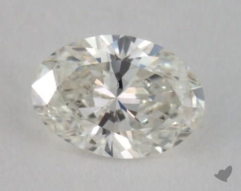 0.30 Carat H-VS2 Oval Cut  Diamond