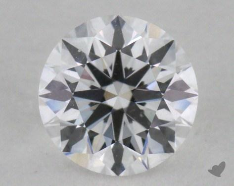 0.61 Carat D-VVS1 Very Good Cut Round Diamond