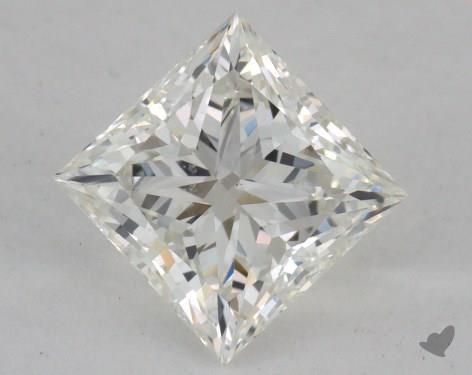 0.97 Carat H-VS2 Ideal Cut Princess Diamond