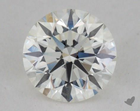 0.70 Carat I-SI1 Excellent Cut Round Diamond