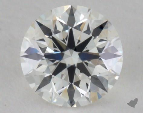 0.54 Carat H-VS1 Ideal Cut Round Diamond