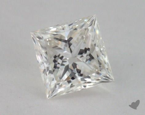 0.73 Carat H-VS2 Princess Cut Diamond