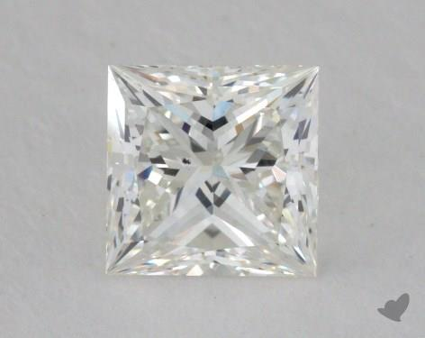 0.80 Carat H-VS2 Princess Cut  Diamond