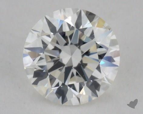 0.54 Carat G-VS2 Excellent Cut Round Diamond