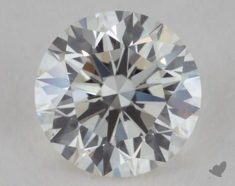 0.56 Carat I-VS2 Excellent Cut Round Diamond