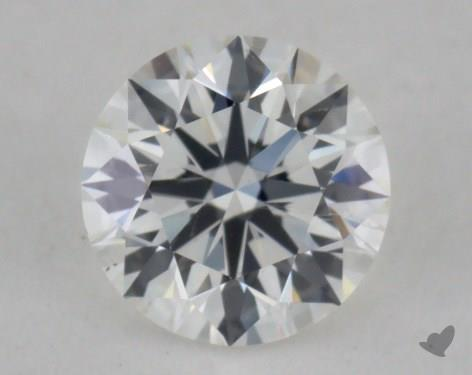 0.52 Carat H-SI1 Excellent Cut Round Diamond