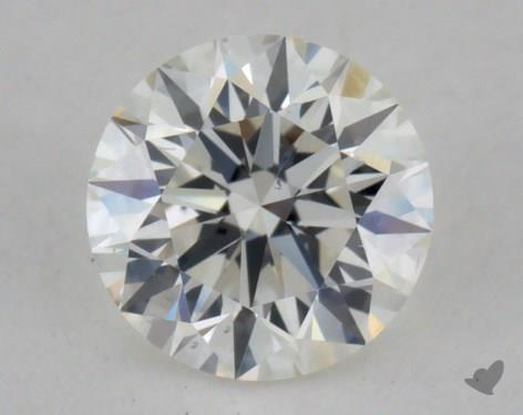 0.53 Carat I-VS2 Excellent Cut Round Diamond
