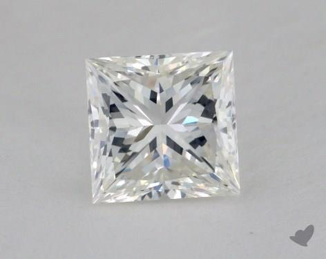 1.53 Carat H-VS2 Ideal Cut Princess Diamond