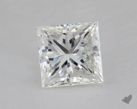 1.56 Carat F-VS1 Ideal Cut Princess Diamond