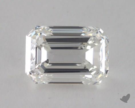 0.92 Carat H-SI1 Emerald Cut  Diamond
