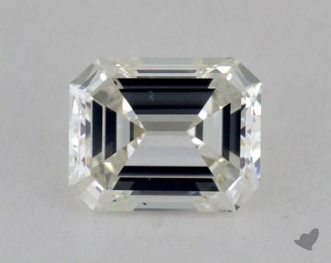 1.09 Carat H-SI1 Emerald Cut Diamond