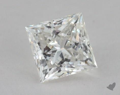 1.20 Carat H-VS2 Ideal Cut Princess Diamond