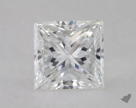1.50 Carat E-SI1 Princess Cut Diamond