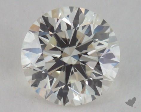 0.90 Carat J-VS2 Ideal Cut Round Diamond