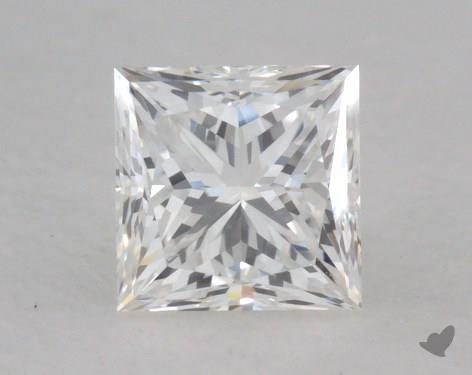 0.54 Carat I-SI1 Ideal Cut Princess Diamond