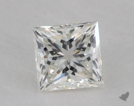0.59 Carat I-VS2 Princess Cut  Diamond