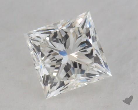 0.72 Carat H-SI1 Very Good Cut Princess Diamond