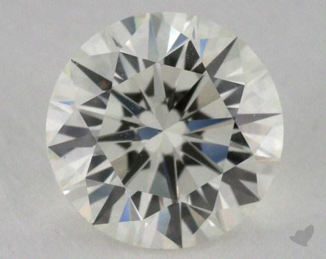 1.06 Carat J-VVS1 Excellent Cut Round Diamond