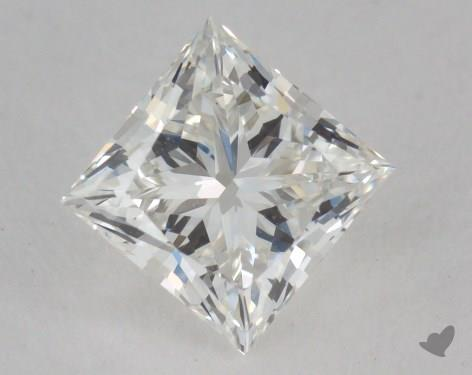 0.85 Carat H-VVS1 Ideal Cut Princess Diamond