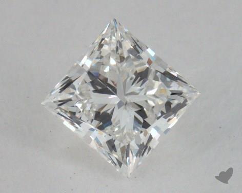 0.82 Carat G-SI1 Ideal Cut Princess Diamond