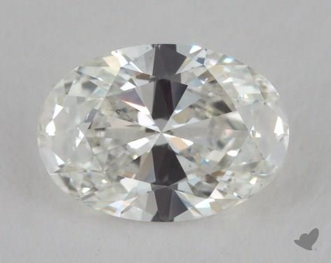 0.91 Carat H-VS2 Oval Cut  Diamond