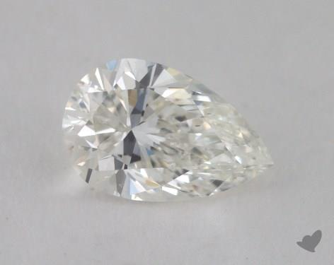 1.01 Carat H-SI1 Pear Cut Diamond