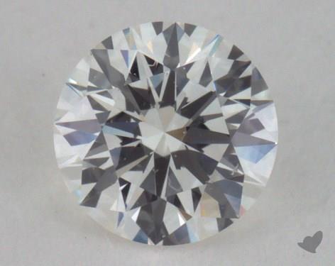 0.33 Carat H-VS2 Excellent Cut Round Diamond