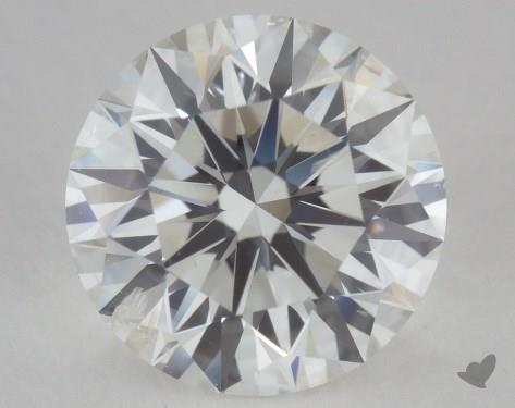 2.06 Carat G-SI2 Excellent Cut Round Diamond