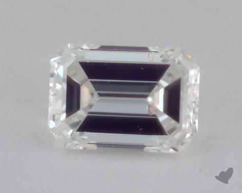 1.01 Carat H-SI2 Emerald Cut Diamond