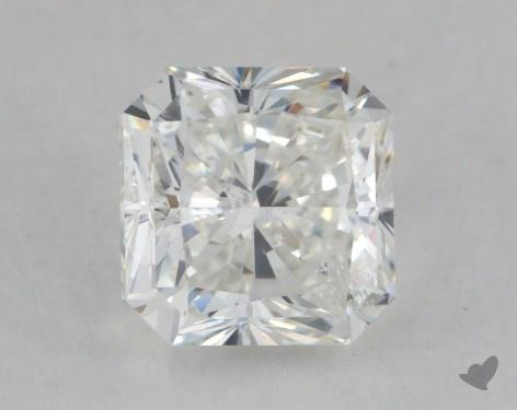 1.21 Carat H-SI1 Radiant Cut Diamond